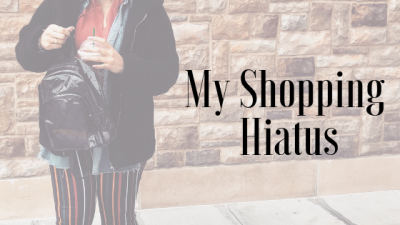My Shopping Hiatus